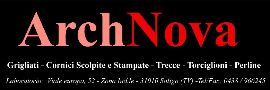 Furniture Component Producer Companies  - ARCHNOVA SRL